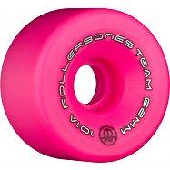Rollerbones Team Logo 62mm 101A 8pk Pink
