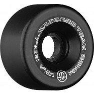 Rollerbones Team Logo 62mm 101A 8pk Black