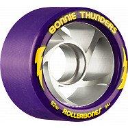 Rollerbones Turbo Bonnie Thunders Signature Rollerskate Wheel 62mm 94A Purple 8pk