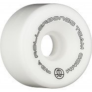 Rollerbones Team Logo 62mm 98A 8pk White
