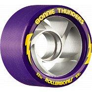 Rollerbones Turbo Bonnie Thunders Signature Rollerskate Wheel 62mm 88A Purple 8pk