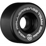 Rollerbones Team Logo 57mm 98A 8pk Black