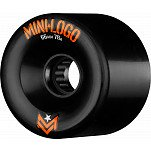 Mini Logo A.W.O.L. A-cut Black 66mm 78A 4pk