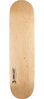 Mini Logo Small Bomb Skateboard Deck 112 Natural - 7.75 x 31.75