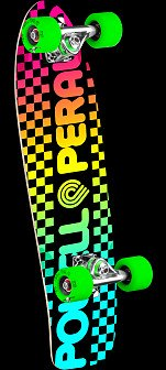 Powell Peralta Checker Cruiser 273 Skateboard Assembly - 7.35 x 25