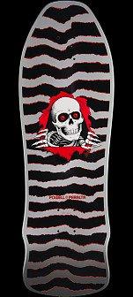 Powell Peralta Ripper Geegah Silver Deck - 9.75 x 30