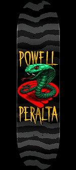 Powell Peralta Cobra Skateboard Deck Yellow - 8.5 x 32.08