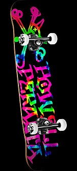 Powell Peralta Vato Rat Tie Dye Assembly 8 x 32.125
