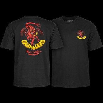 Powell Peralta Steve Caballero Original Dragon T-shirt - Black