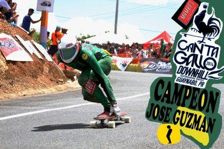 Jose Guzman WINS Cata Gallo Downhill, Puerto Rico