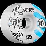 BONES SPF War Paint 55x34 P4 Skateboard Wheel 84B 4pk