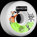 BONES SPF Pro McClain Duck Hunt 54x31 P5 Skateboard Wheel 84B 4pk