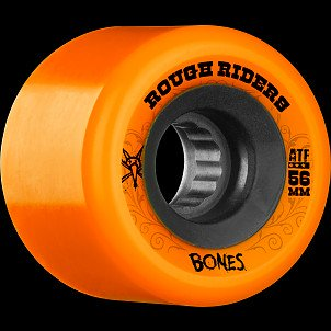 BONES WHEELS Rough Riders 56mm Orange Wheel 4pk