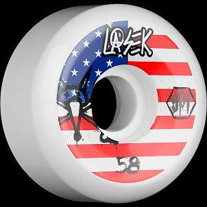 BONES SPF Pro Lasek USA 58x33 P5 Skateboard Wheel 84B 4pk