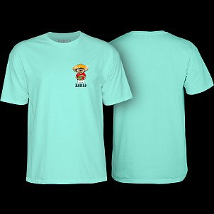 BONES WHEELS Weedy T-shirt Mint