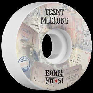 BONES STF Pro McClung Passport 51x30 V1 Skateboard Wheel 83B 4pk