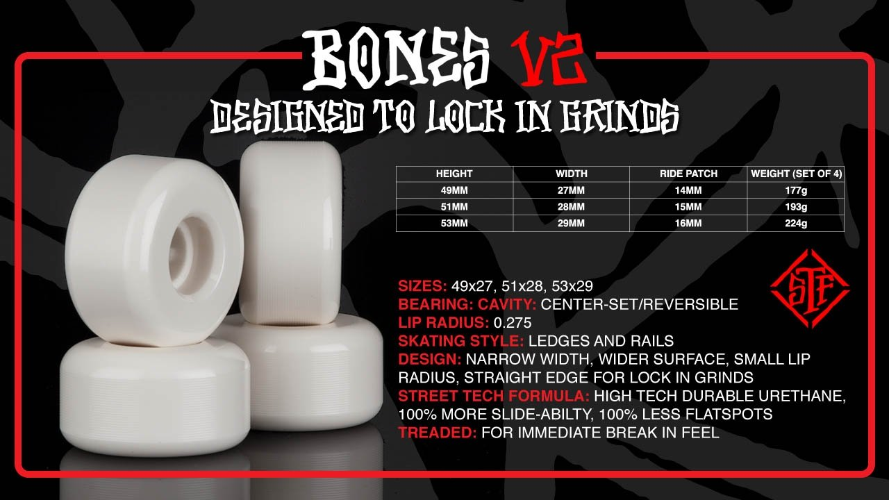 BONES V2 Lock In Grinds